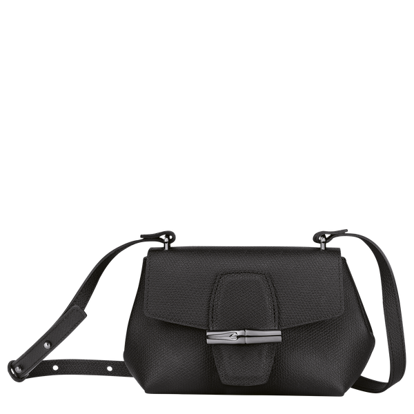 Roseau Crossbody Bag S in Black/Ebony - 1 - 10115HPN001