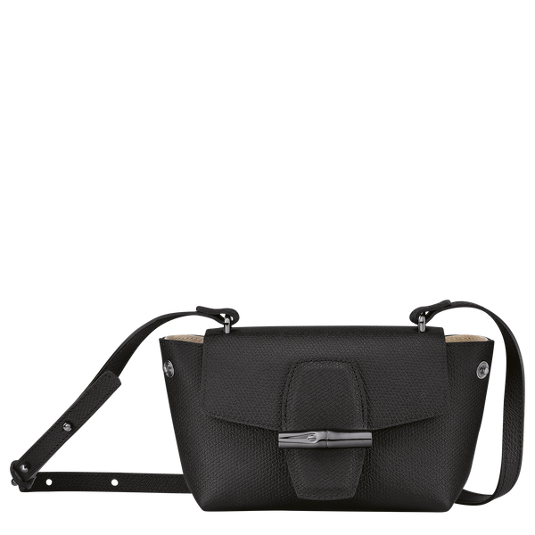 Roseau Crossbody Bag S in Black/Ebony - 2 - 10115HPN001