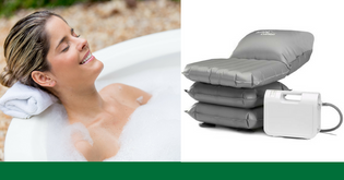 Mangar Bath Lift Cushion - THE Solution For Your Sore Knees & Legs