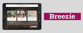 breezie internet tablet
