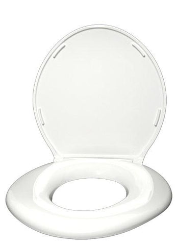 Big John Standard Toilet With Lid and Closed Front