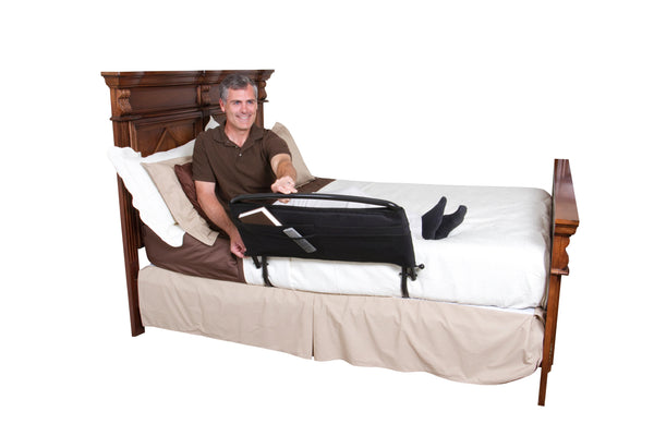 "8051 Stander 30"" Bed Safety Rail with Organizer"