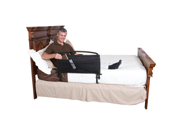"8051 30"" Stander Bed Safety Rail with Organizer"