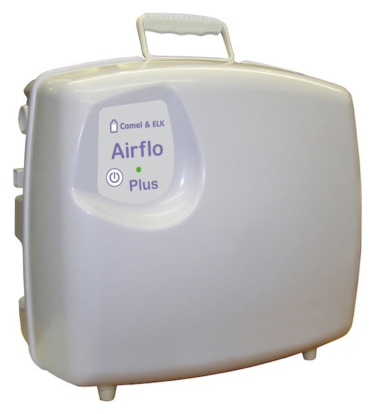 The Mangar Handy Pillow Bed Lift's Portable AirFlo Plus Compressor