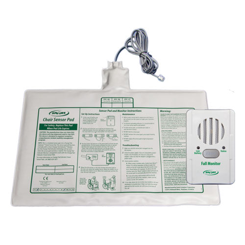 "BC1-SYS Basic Fall Monitor and 10"" x 15"" Chair Pad"