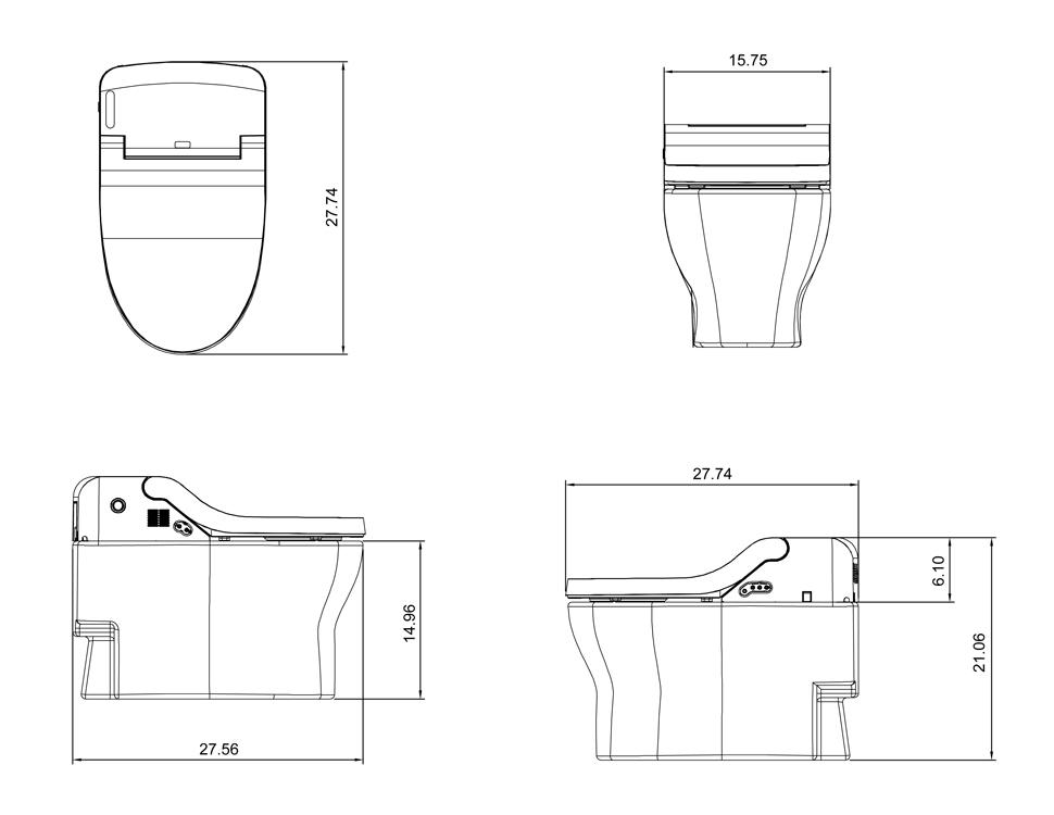 IB 835 - Toilet Measurements