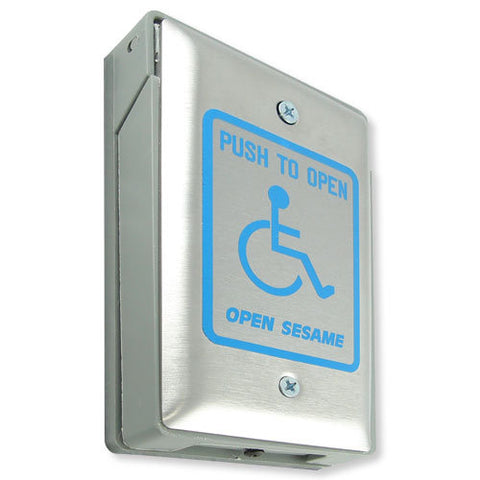 Open Sesame Large Wireless Push pad