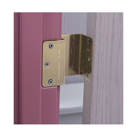 Briggs Brass Offset Hinge Door frame