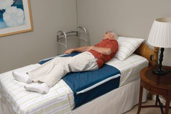 Sammons Preston Bed Assist Device increases the user's independence