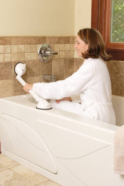 Bridge-Medical Pivoting Grip Grab Bar BC400M Tub