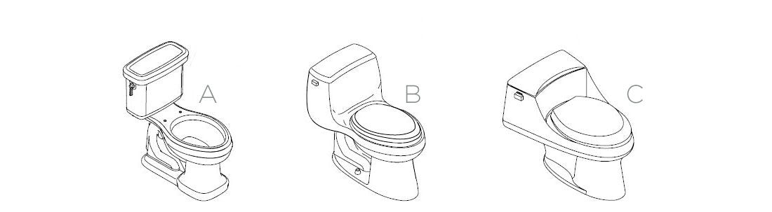 BB-800 | Toilet Type Guide, Elongated Vs. Round