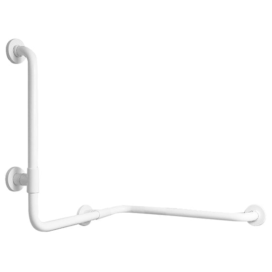 G01JBS06 - Ponte Giulio Corner grab bar with vertical support