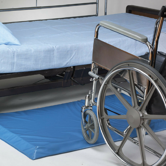 Skil-Care - Roll-On Bedside Fall Mat Chair