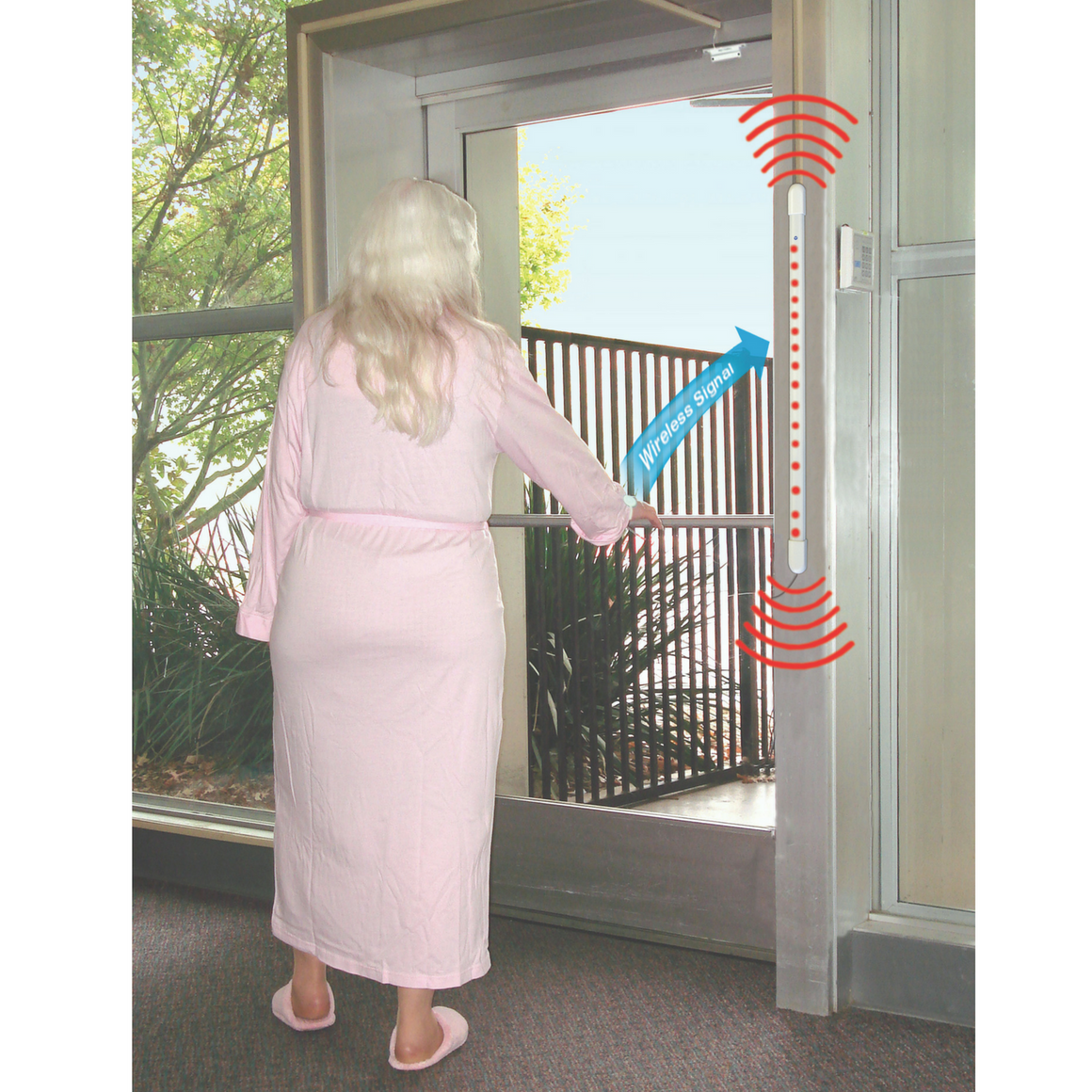 TL-3005SYSR2 - single door alert system action