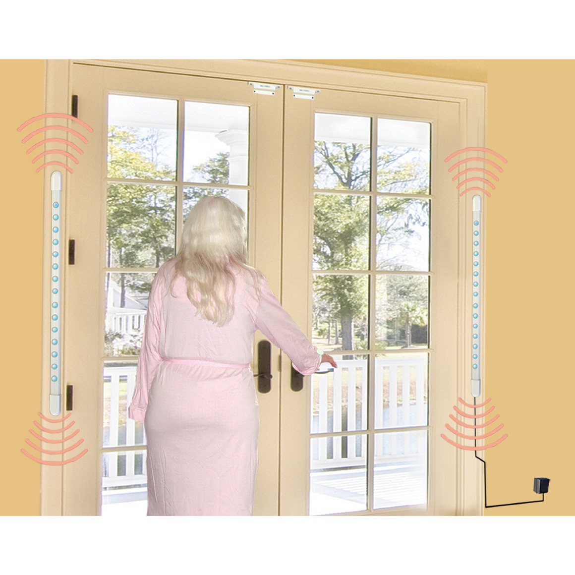 smart caregiver TL-3005SYSR2 -double door alert action