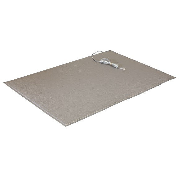 "Smart Caregiver 24"" x 36"" Gray Floor Mat FM-05"