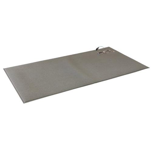 "Smart Caregiver Gray 24"" x 48"" Floor Mat FM-07"