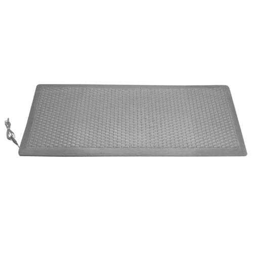 "Smart Caregiver 24"" x 71"" x 1"" Gray Floor Mat LM-01"