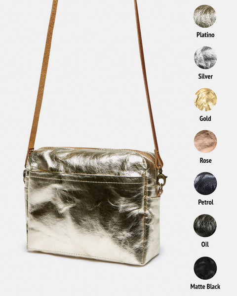 Shoulder Pochette - Metallic