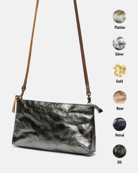 Long Pochette - Metallic