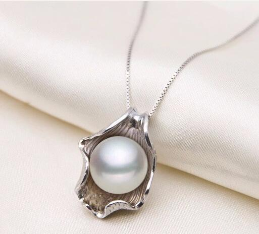 Natural Freshwater Pearl Sterling Silver Necklace
