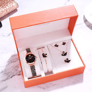 Xena Bracelet Watch Set