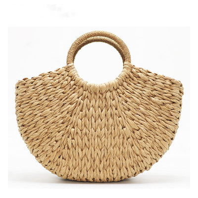 Classic Straw Beach Bag