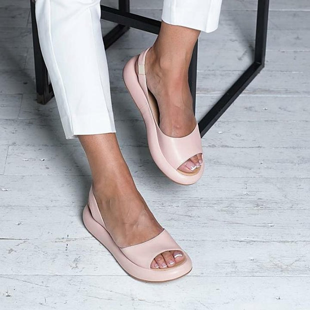 Solid Soft Sandals