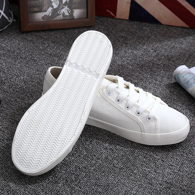 Simple Canvas Sneakers