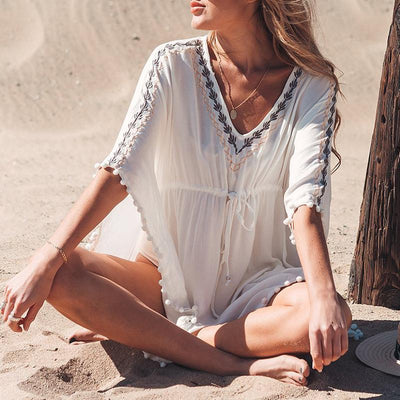 Tassel Beach Cover Up