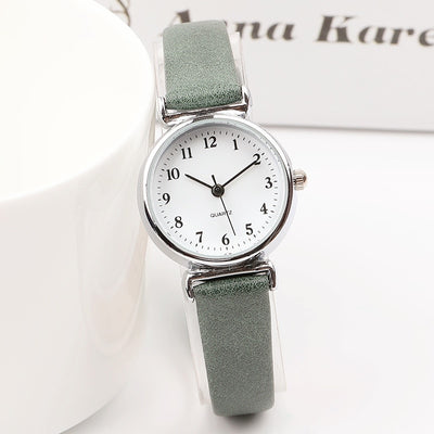 Retro Small Leather Watch