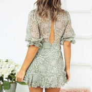 Summer Ruffle Dress