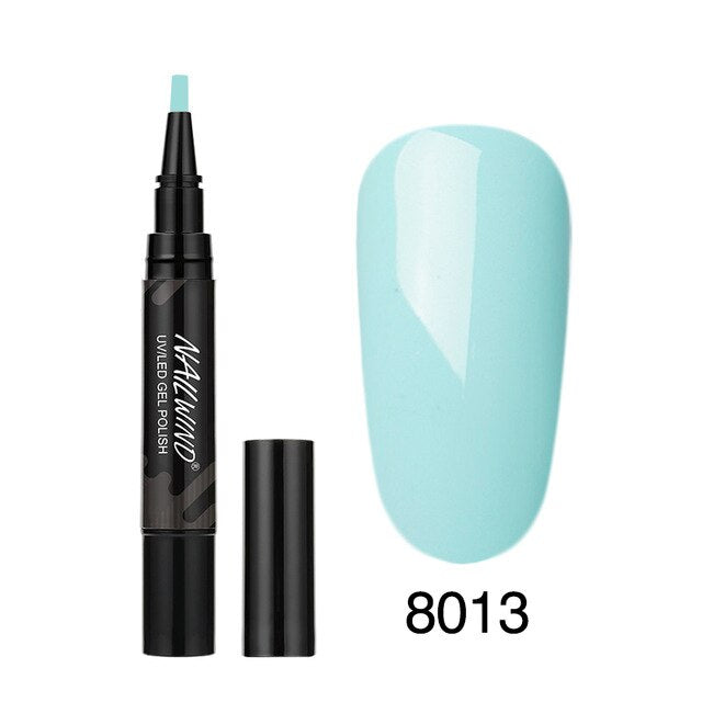 Art Manicure Soak Off Enamel Nail Glue Pen