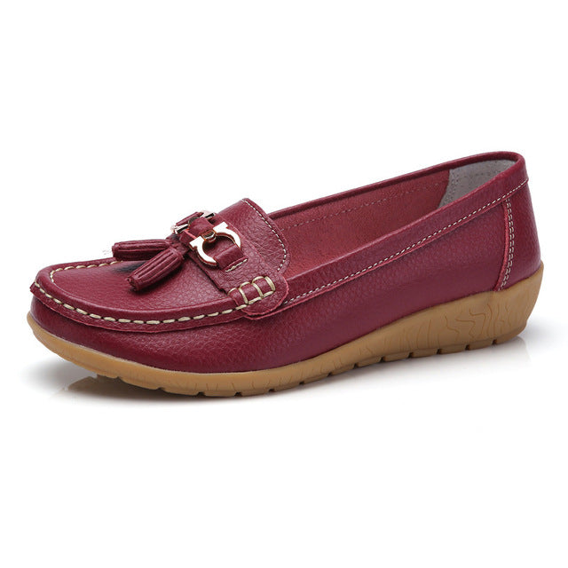 Sadie Leather Loafers