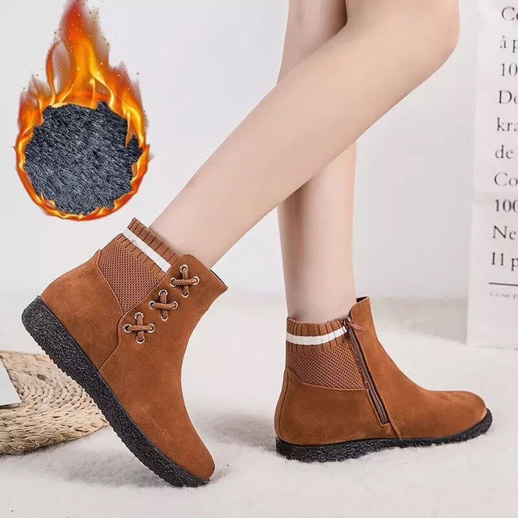 Warm Thick Plush Ankle Boots