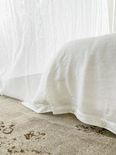 Load image into Gallery viewer, Linen Quilt Cover - Salt