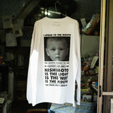 NISHIMOTO IS THE MOUTH L/S T-SHIRT NIM-L12 WHITE