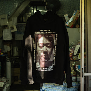 NISHIMOTO IS THE MOUTH SWEAT HOODIE NIM-L23 BLACK