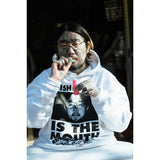 NISHIMOTO IS THE MOUTH SWEAT HOODIE NIM-L13 WHITE