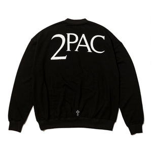 2PAC SWEAT SHIRTS TPCB-002 BLACK