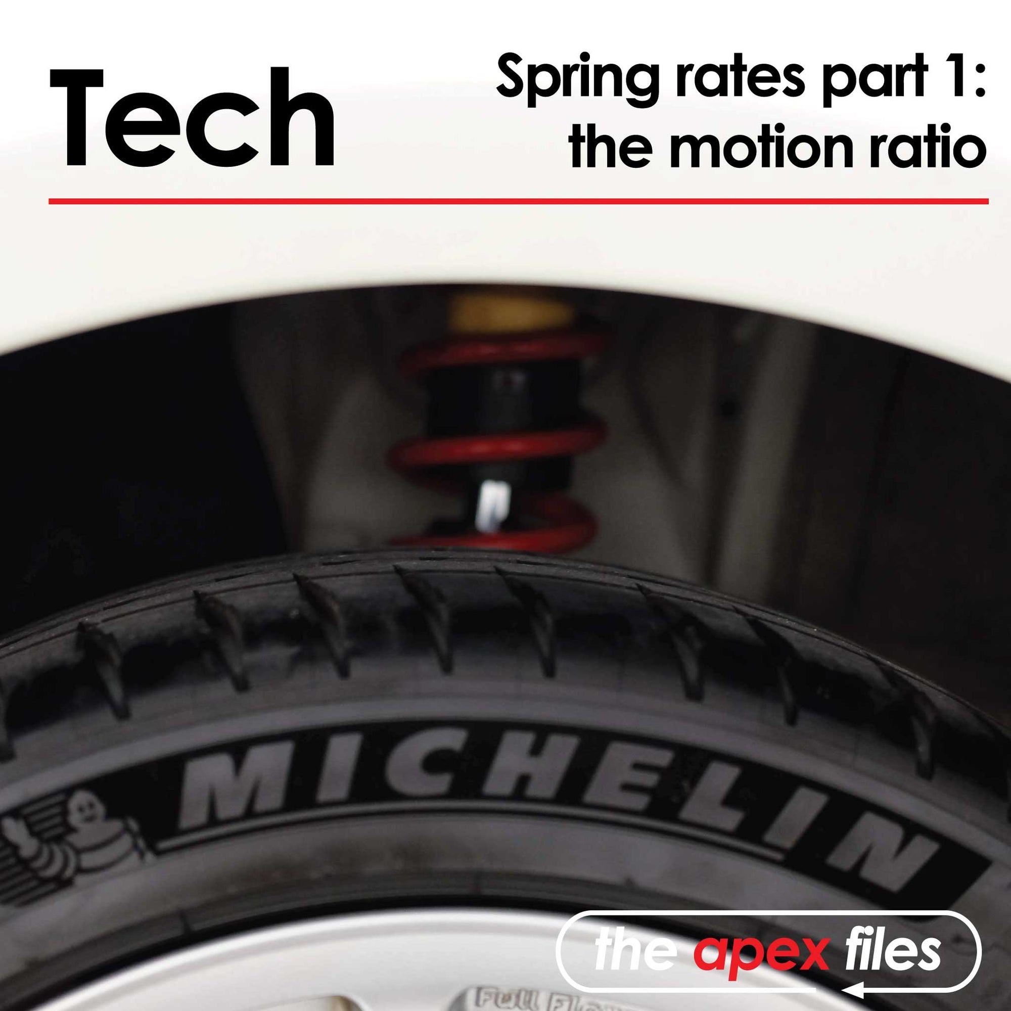 Spring Rates Part 1: The Motion Ratio