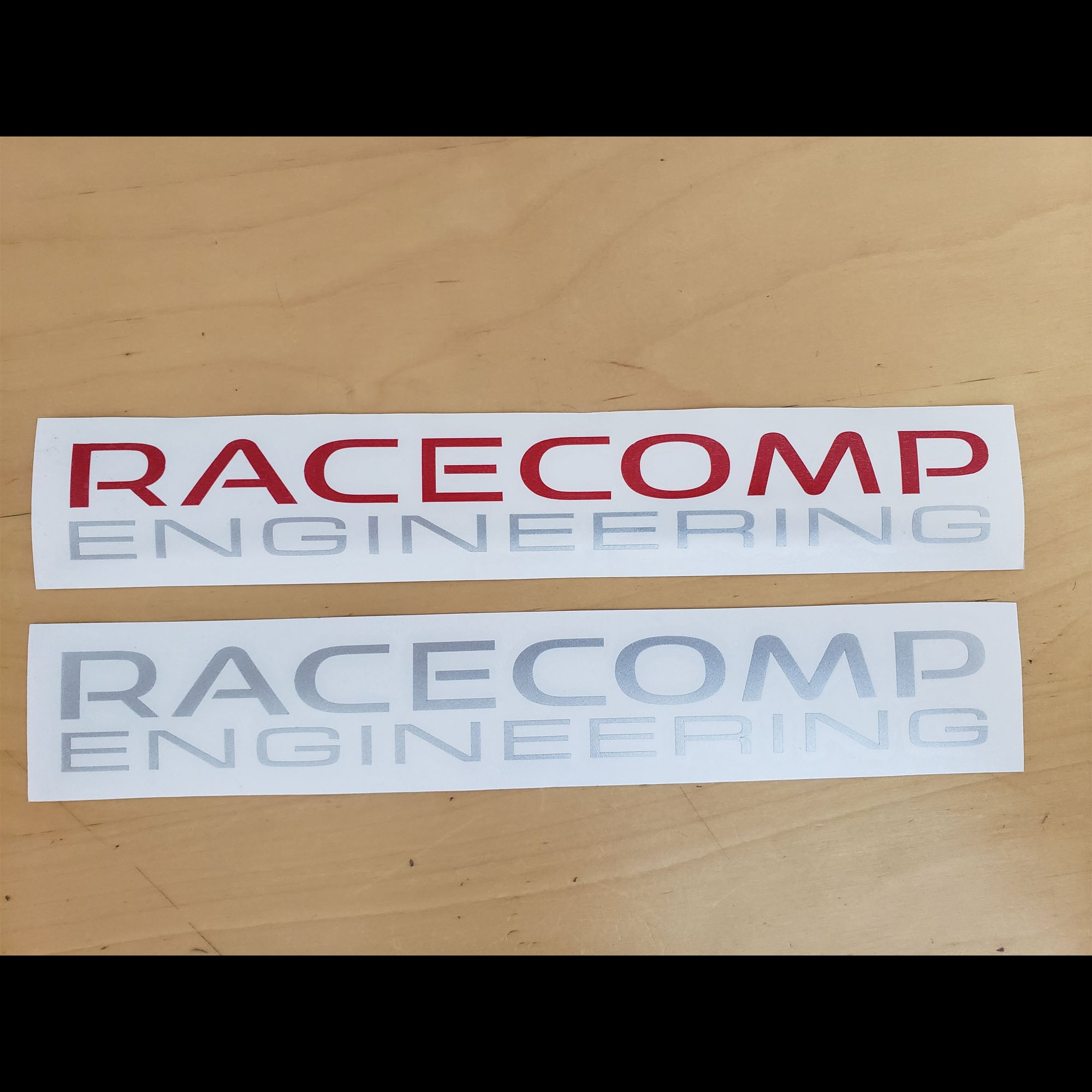 Racecomp Engineering Decals