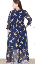 Load image into Gallery viewer, Plus size starfish maxi dress