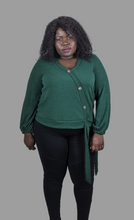 Load image into Gallery viewer, Plus size angel long sleeve sweater top