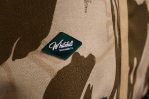 Coll Bahrain Camo oversized bag detail