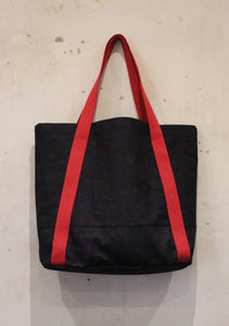 Selvedge Rigger Bag Red Back