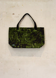 Wee Barra, Danish Camo with Cotton webbing straps.