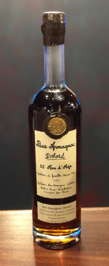 DeLord 25 Year Old French Armagnac Brandy