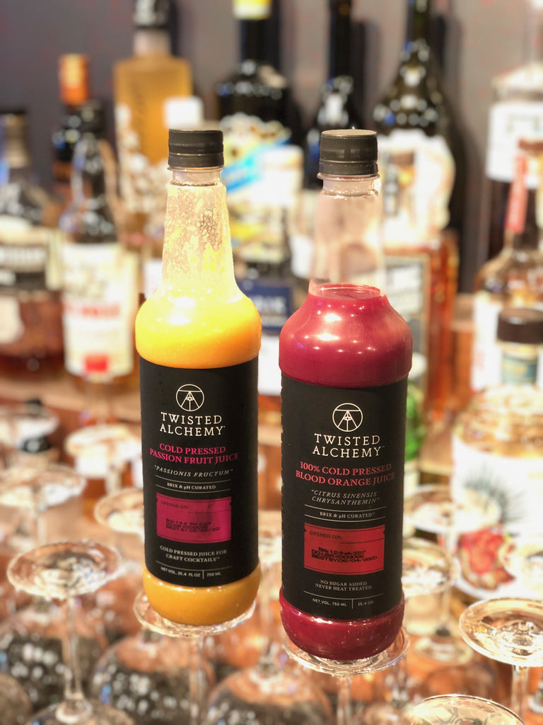 Twisted Alchemy Fresh Juices and Sour Mixes