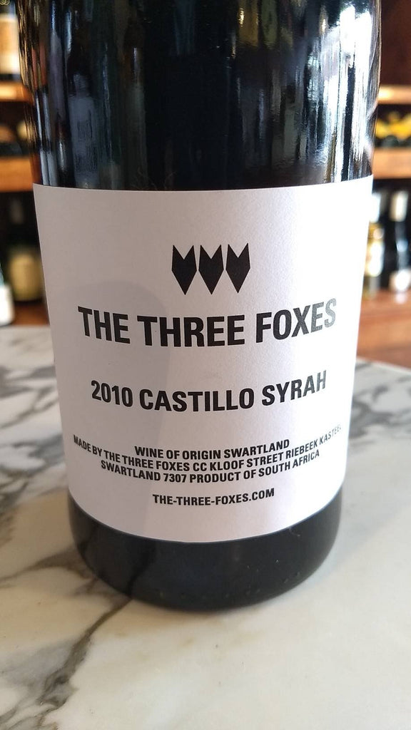 Three Foxes Syrah